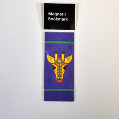 Gerald magnetic bookmark