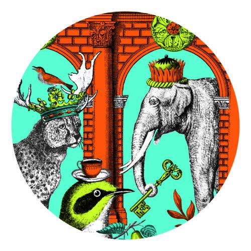 Menagerie elephant coaster