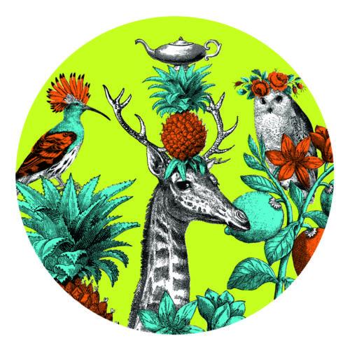 Menagerie giraffe coaster