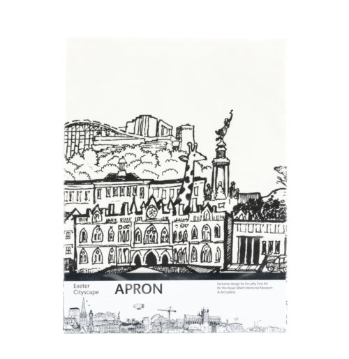Exeter cityscape apron
