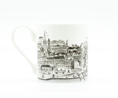Exeter cityscape mug