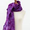 Mulberry felt and silk fairtrade scarf