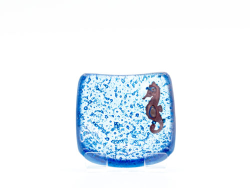 Jo Downs blue earring dish