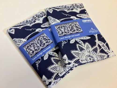 Lace tea towel
