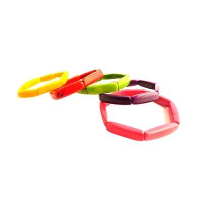 Narrow tagua bracelet