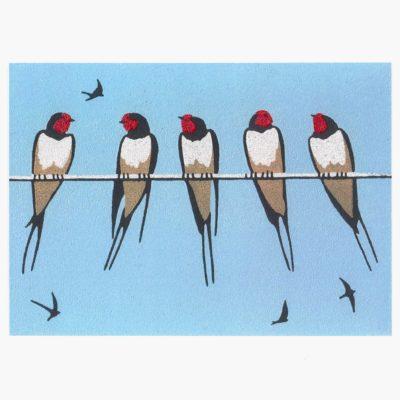 Nine swallows