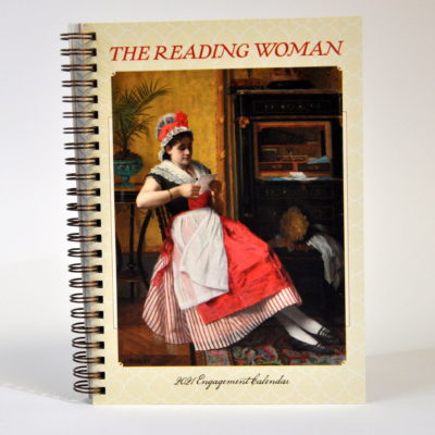 The reading woman 2021 diary