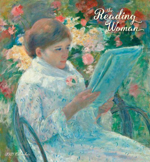 The reading woman 2021 calendar