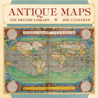 Antique maps 2021 calendar