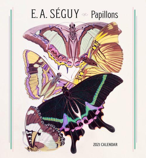E A Seguy: papillons 2021 calendar