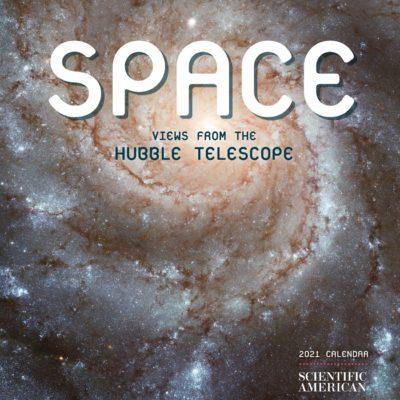 Space: views from the Hubble telescope 2021 mini calendar