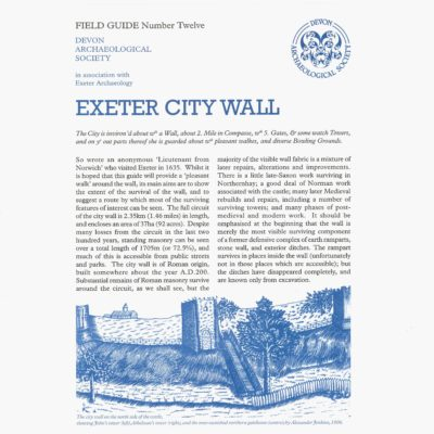 Exeter city wall