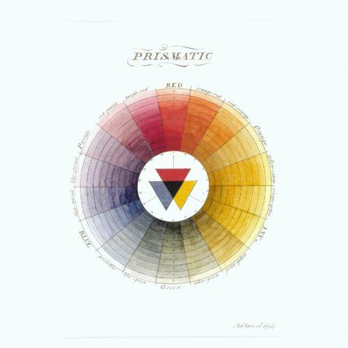 Prismatic colour wheel