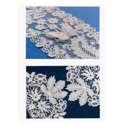 RAMM lace postcards