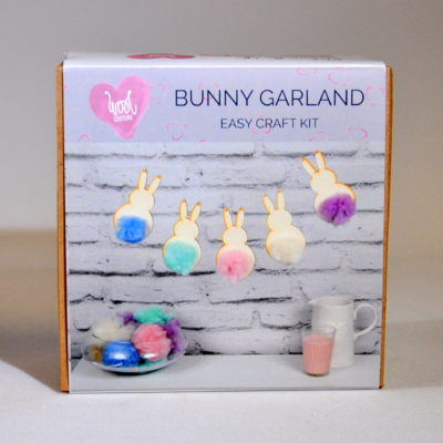 Bunny garland craft kit