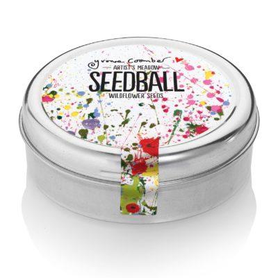 Seedball - artist's meadow tin