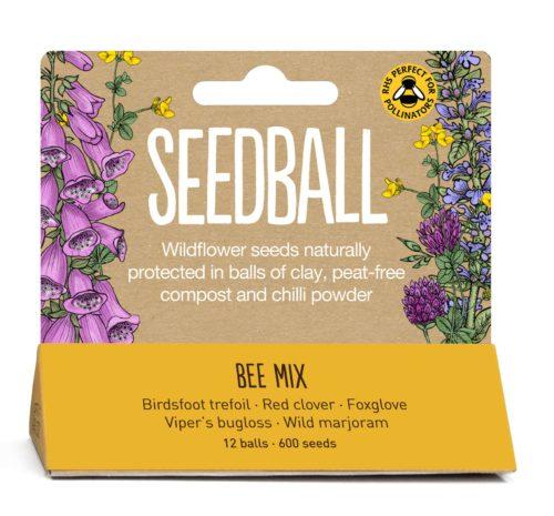 Seedball - bee mix tube
