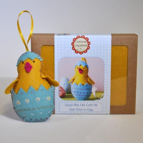 Felt chick craft kit