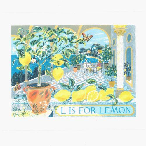 L is for lemon
