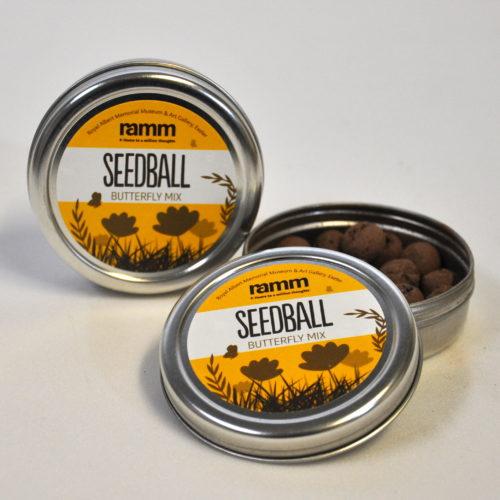 Seedball - RAMM butterfly mix tin
