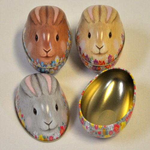 Tin bunny set