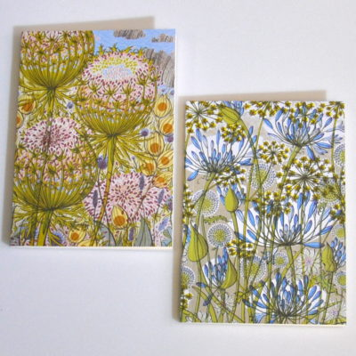 Angie Lewin notebooks
