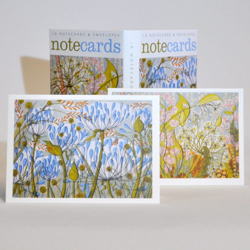 Angie Lewin notecards