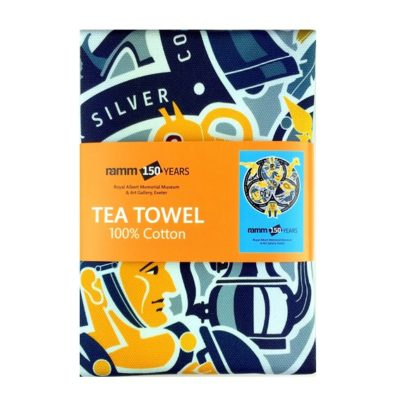 RAMM 150 years tea towel