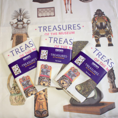 Treasures Tea towel