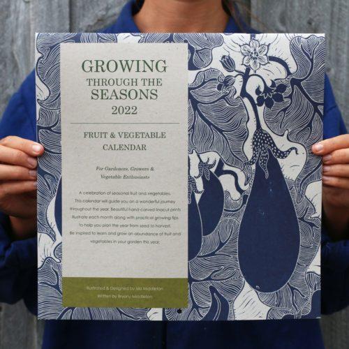 Growing through the seasons 2022 calendar