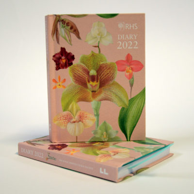 RHS orchids 2022 pocket diary